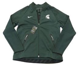NWT NIKE NCAA Michigan State Spartans Men's Full Zip Up Jacket Adult Siz... - $103.91