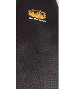 C.H. MUNDAY St. Helena Black Necktie Tie Made In UK - $17.77