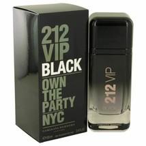 212 VIP Black by Carolina Herrera Eau De Parfum Spray 1.7 oz for Men - $58.51