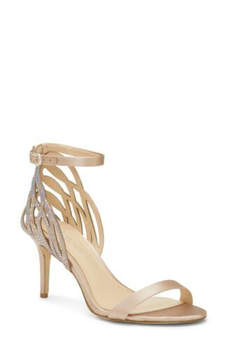 Primary image for Imagine Vince Camuto Women Ankle Strap Sandals Pharra Size US 6M Bisque Beige