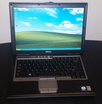 Dell D630 Core2 Duo 2GB 80GB HD DVD Windows XP WIFI Serial Port Microsof... - $115.78