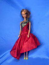 1966 Mattel Barbie Twist & Turn with Red Hair Outfit & Shoes - $24.99