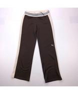 Puma Women's Size XS Brown Straight Stretch Pants - $39.60