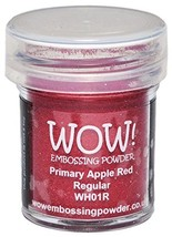 Wow Embossing Powder WOW-WH01R Embossing Powder, 15ml, Apple Red - $8.65
