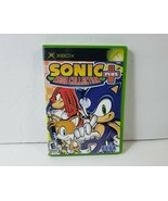 Sonic Mega Collection Plus (Microsoft Xbox, 2004) Complete w/ Case & Man... - $10.93