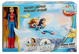 DC Super Hero Girls Wonder Woman Invisible Jet w/Large Wonder Woman Acti... - $98.99