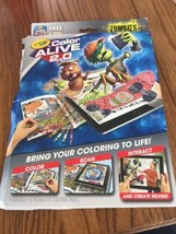 CRAYOLA COLOR ALIVE 2.0 INTERACTIVE COLORING ZOMBIES BRAND NEW Ships N 24h - $7.90