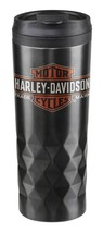 Harley-Davidson Trademark Logo Stainless Steel Travel Mug Cup HDX-98612 - $18.76