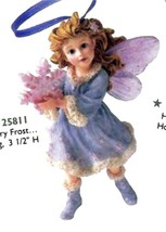 """Boyds Wee Folkstone Faerie """"Flurry Frost..Winter Dusting"""" Ornament-#25811 - New - $23.99"""