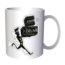 Fun Delivery Man 11oz Mug r179 - £8.43 GBP