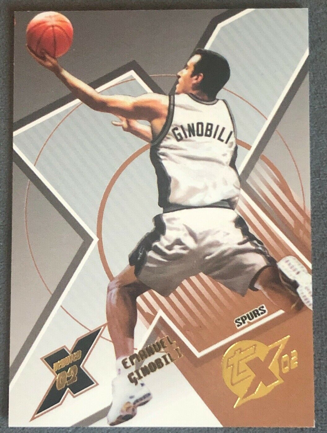 MANU GINOBILI 2002-03 TOPPS XPECTATIONS Xcitement #151 - ROOKIE RC Emanuel SP