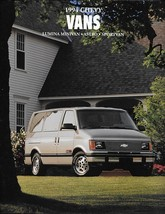 1994 Chevrolet VANS sales brochure catalog ASTRO LUMINA SPORTVAN 94 US C... - $9.00