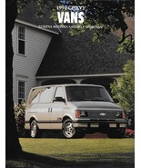 1994 Chevrolet VANS sales brochure catalog ASTRO LUMINA SPORTVAN 94 US C... - $8.00