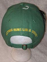 John Deere LP14418 Green Adjustable Baseball Cap With Leaping Deer Logo image 4