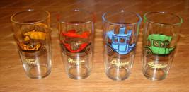 Antique Car's Tumblers, Glassware by Hazel-Atlas (Barware) Studebaker, F... - $38.12