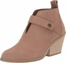 $265! New Eileen Fisher Tempo Earth Nubuck Leather Bootie Boots Shoe Womens 9 - $67.32