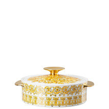 Versace by Rosenthal Medusa Rhapsody Covered vegetable bowl - $915.70