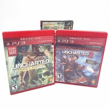 Uncharted 1 & 2 Dual Pack Drake's Fortune/Among Thieves, Sony PlayStation 3 PS3 - $11.75