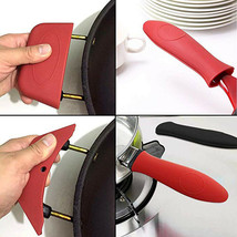 Portable Silicone Hot Handle Holder Potholders for Iron Pans Handles Cov... - $11.00