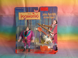1995 Mattel Governor John Ratcliffe Action Figure Disney Pocahontas - New - $15.35