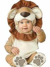 Incharacter Loveable Lion Roar Cub Infant Costume Halloween Cute Baby 16001 - $24.99
