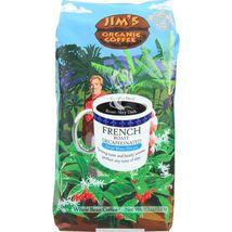 Jims Organic Coffee Coffee Beans - Organic - French Roast - Decaf - 11 o... - $105.99