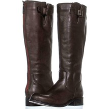 Steve Madden Trico Zip Up Knee High Boots 354, Brown, 6 US - €39,52 EUR