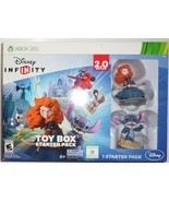 Disney Infinity 2.0 XBOX 360 Video Game toy box starter Merida Stitch H26 - $29.77