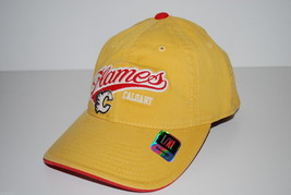 Calgary Flames NHL Vintage Retro Slouch Hockey Cap Hat   L/XL - $18.99