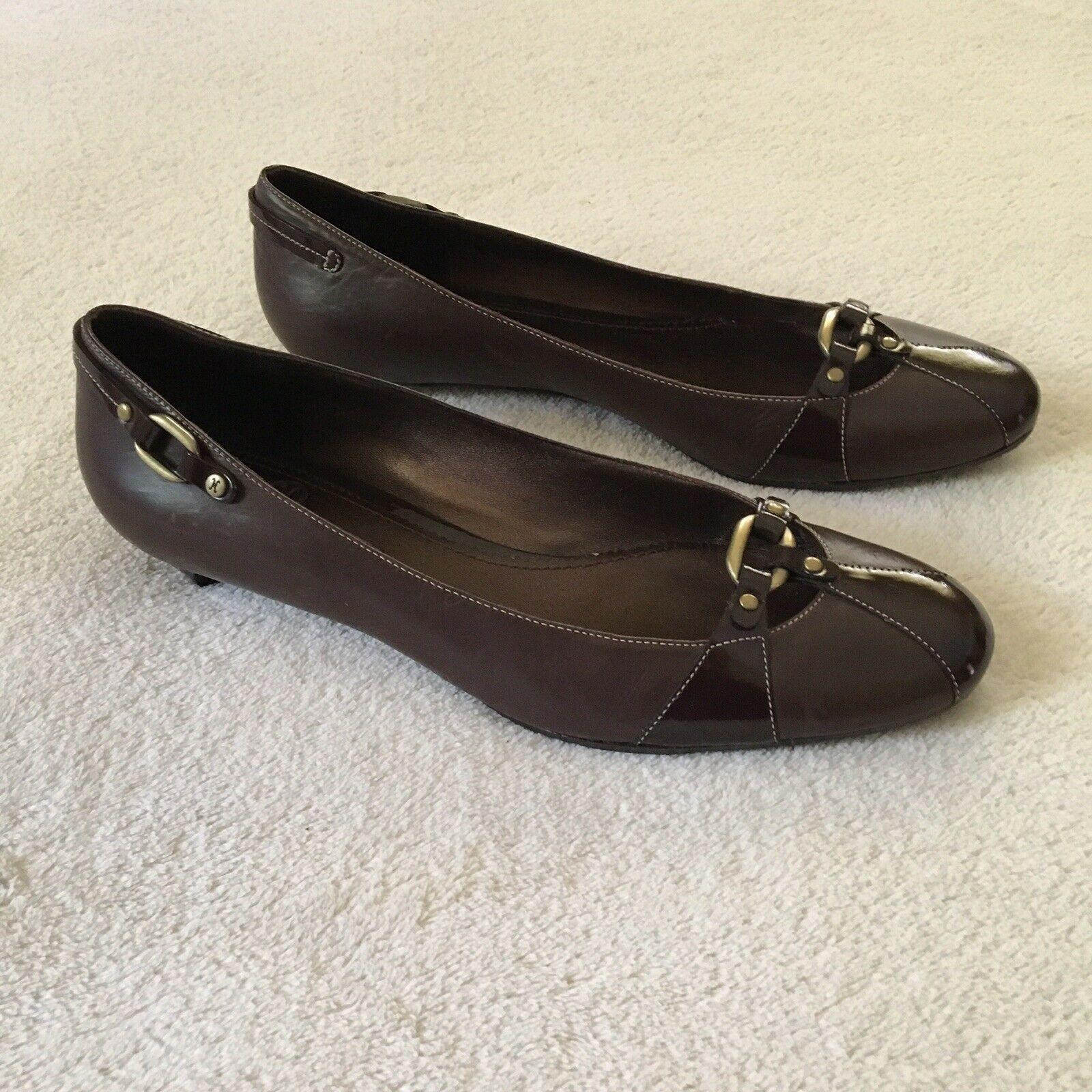 Cole Haan Shoes Womens Size 7.5 B Brown Low Heel