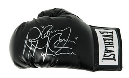 "Ray Mancini Signed Everlast Black Boxing Glove w/ ""Boom Boom"" - $80.00"