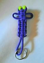 Purple Paracord Bug Keychain - $8.75