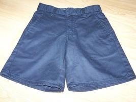 Girl's Size 8 Slim Gap Kids Navy Blue School Uniform Shorts Adjust Waist EUC  - $14.00