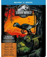 Jurassic Park 5 Movie Collection (Blu-ray/Digital, Canadian Plays in US)... - $29.98