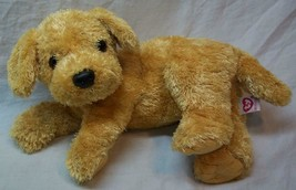 "TY 2001 Beanie Buddies TAN PUPPY DOG 12"" Plush Stuffed Animal TOY - $19.80"