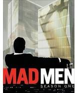 Mad Men - Season 1 (DVD, 2008, 4-Disc Set) - BRAND NEW - FREE SHIPPING - $8.90