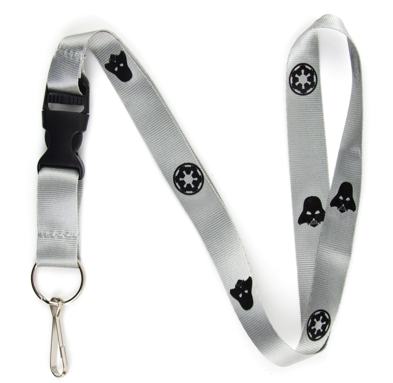 Darth Vader Lanyard Keychain and ID Holder with Detachable, Breakaway Buckle for