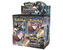 Sun & Moon Burning Shadows 9 Booster Pack Lot 1/4 Booster Box POKEMON TCG - $29.99