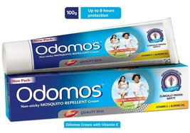 Dabur Odomos Non-Sticky Mosquito Repellent Cream (With Vitamin E & Almon... - $16.79+