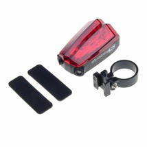 Waterproof Bicycle Laser Tail Light Emit Two Parallel Lines Battery Oper... - $14.22