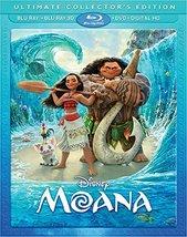 Disney Moana [3D + Blu-ray + DVD]