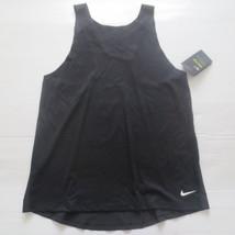 Nike Women Breathe Tank Top Shirt - 862774 - Black 010 - Size XL - NWT - $21.99