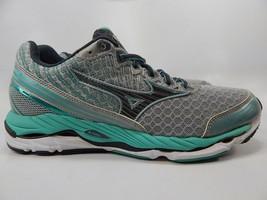 Mizuno Wave Paradox 2 Size 10.5 M (B) EU 42 Women's Running Shoes Silver Blue