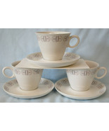 Franciscan Merry Go Round Cup & Saucer, set of 3 - $24.64