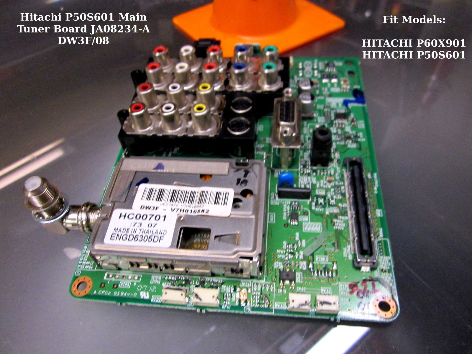 Primary image for Hitachi P50S601 Main Tuner Board JA08234-A DW3F/08 [See List]