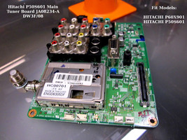 Hitachi P50S601 Main Tuner Board JA08234-A DW3F/08 [See List] - $14.96