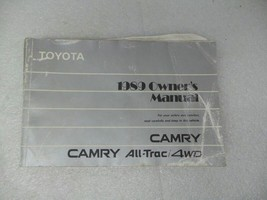 Toyota Camry 1989 Owners Manual 17229 - $13.81