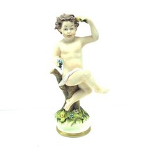 Capodimonte Mariani Figurine naked putti porcelain statue Italy 196 napo... - $173.25