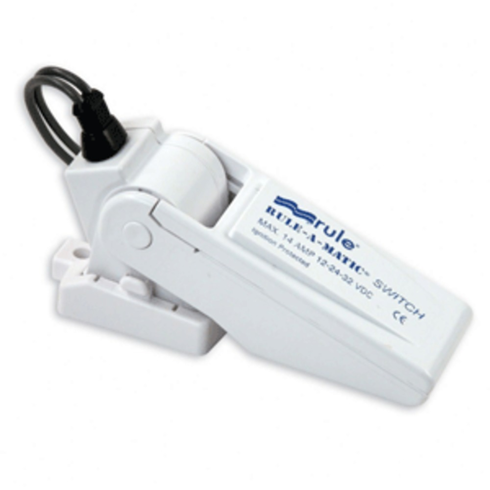 Rule-A-Matic® Float Switch w/Fuse Holder