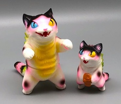 Max Toy Pink Spotted Odd-Eye Negora and Micro Negora w/ Fish - Rare image 5